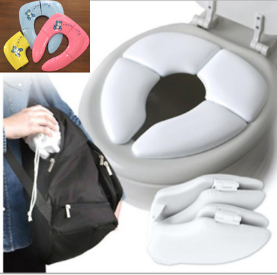 Baby Travel Folding Potty Seat Toddler Portable Toilet Training Seat