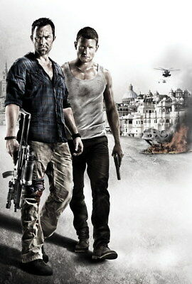"""001 Strike Back - Philip Winchester Action Thriller USA TV Show 14""""x20"""" Poster"""