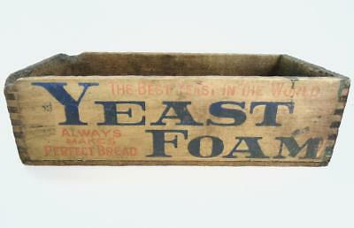 Vintage Yeast Foam Always Makes Perfect Bread Dovetail Wood Box Drawer?