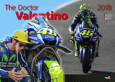 The Doctor Valentino Rossi Kalender 2018