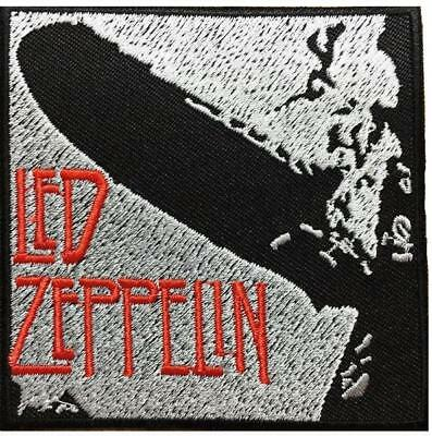 """Led Zeppelin Embroidered Iron On Sew On Jacket Badge Patch 3"""""""