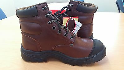 Mack Boots - Size 7.5 - Stirling Q <Safety> (M's) - Moondance Colour - Steel Toe