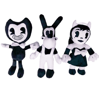 12''Bendy and the ink machine Bendy and Boris Figure Toy Soft Plush Doll Gift