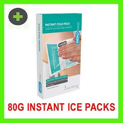 Instant Cold Ice Pack  (16 x 9cm) 80g x6