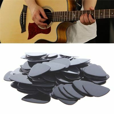 100 X Acoustic Electric Guitar Picks 0.71mm Plectrums Musical Instrument Lot