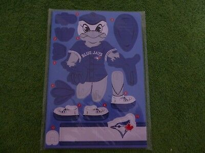 Toronto Blue Jays Baseball Cardboard Standee - New and sealed.