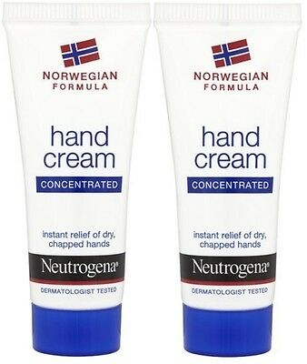 2x Neutrogena Scented Hand Cream 15ml