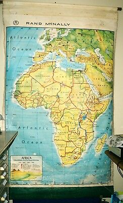 Rand McNally Roll-up Map of Africa
