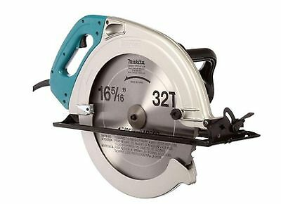 15-Amp 16-5/16 in. Circular Saw Corded With Case Power Tool Keyed Blade Change