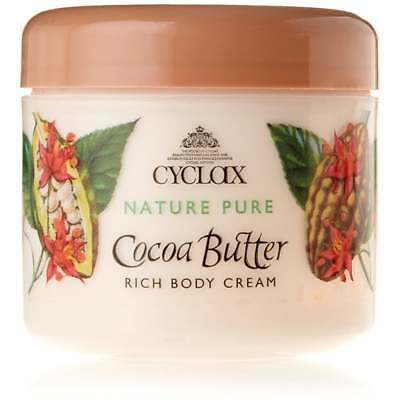 Cyclax Nature Pure Cocoa Butter Body Lotion 250ml - NEW - FREE P&P - UK