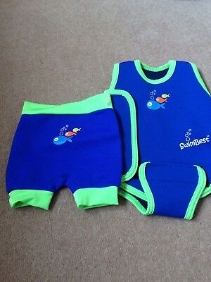 Swim Best baby wetsuit wrap and shorts