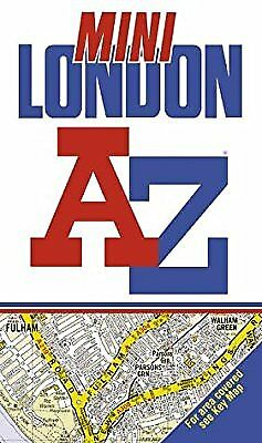 A-Z Mini Street Atlas of London, Geographers A-Z Map Company, Used; Good Book