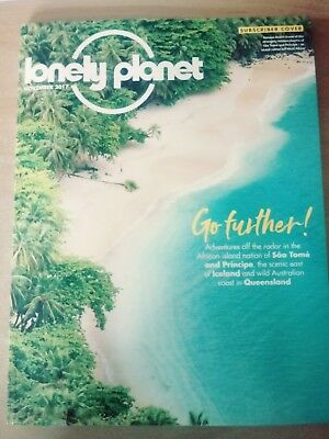 Lonely Planet Magazine November 2017 Iceland Queensland Sao Tome Portugal