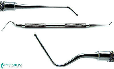 Dental Calcium Hydroxide Placement Cavity Liner Double Ended Surgical Tools