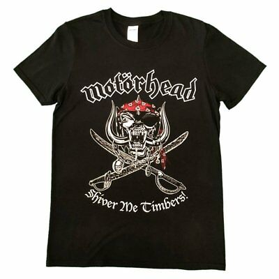 Motorhead Lemmy Shiver Me Unisex Official T Shirt Brand New Various Sizes