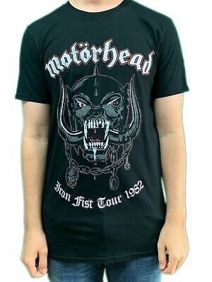 Motorhead Lemmy Iron Fist 1982 Unisex Official Tee Shirt Brand New Various Sizes