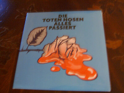 "DieToten Hosen-Alles passiert 7"" Single Limited-Numbered-Edition NEW-OVP"