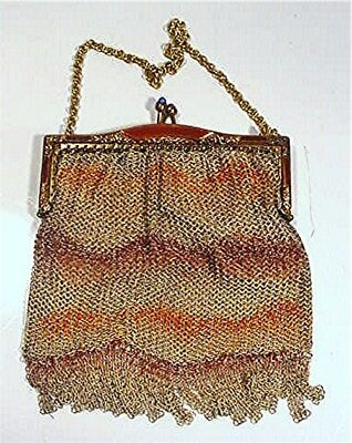 Vintage Victorian Metal Mesh Ladies Purse