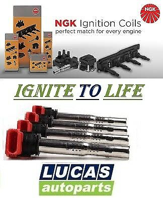 U5014 Genuine Ngk Auto Ignition Coil For All Cars 48041