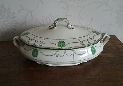 Antique Royal Doulton Countess Pattern large tureen 1930s Rd No 523784 veg dish