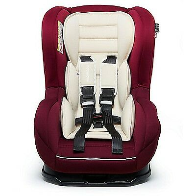 Nania Cosmo SP 0-4YR Rear & Forward Facing Recliner Car Seat RED 3T RRP £100 FF
