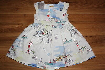 NEXT girls LIGHTHOUSE prom dress 9-12 months NEW *I'll combine postage
