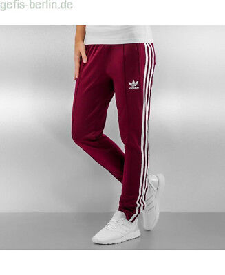 order look out for great deals 2017 ADIDAS JOGGINGHOSE HERREN SST in Rot 76762, Größe:S (fällt ...