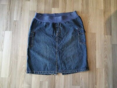 Old Navy Maternity Knee length Skirt Denim size small with side pockets