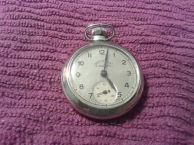 Lovely Vintage H samuel Defiance pocket watch. Serviced New Crystal  Free post