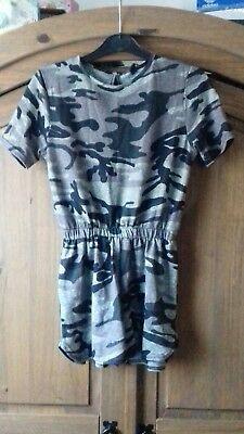 Camouflage Playsuit Age 10-11 Years