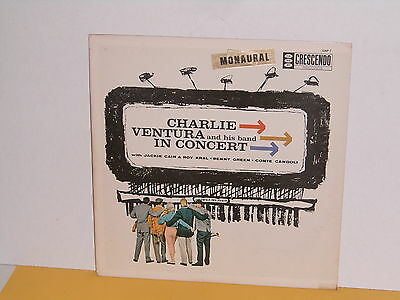 Lp - Charlie Ventura And His Band - In Concert
