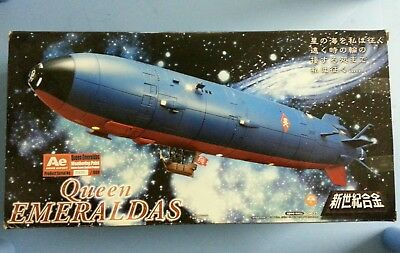 SGM-25 Queen Emeraldas Weathering Anime Export Limited 1000 Like New