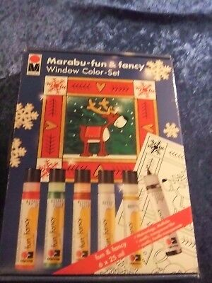 Window Color Set Marabu Fun& Fancy