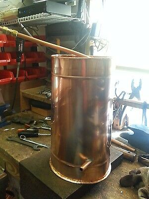 Copper Moonshine Condensing Can By Ron Yurcak Free Shipping