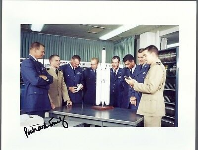 Autograph, Hand Signed,manned Orbiting Lab Astronaut Richard Truly