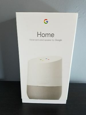 LOT OF 2  Google Home - White, Google Personal Assistant -BRAND NEW