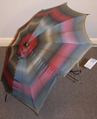 1940s/50s ORIGINAL VINTAGE UMBRELLA. AS IS.