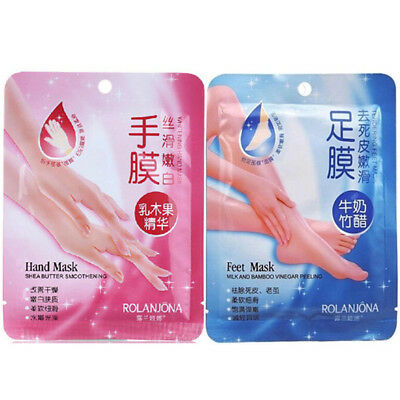 Exfoliating Peel Renewal Foot hand Mask BabyFeet Remove Dead Skin Cuticles
