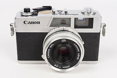 "Canon Canonet 28 + 40mm 1:2.8 Rangefinder Camera "" NEW SEALS"""