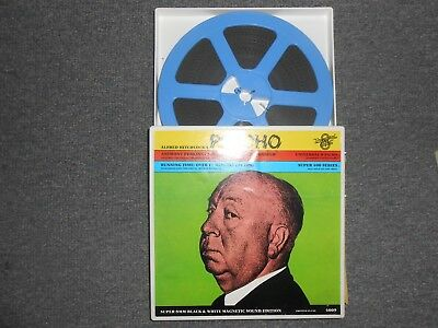 Psycho~Selected Scenes~Super 8 MM~7 Inch Reel~1960~ Hitchcock~Magnetic Sound