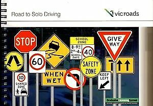 VIC ROADS Road To Solo Driving Car Learner Book Latest Edition 2017 DECEMBER NEW