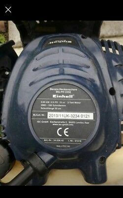 Einhell petrol hedge trimmer - FOR PARTS only