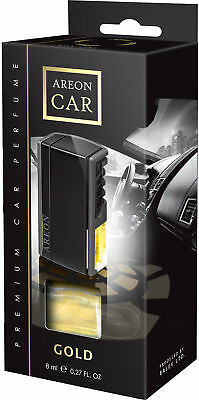 Genuine Areon Lux Gold Car PERFUME AIR FRESHENER SCENT TREE FOR AIR VENT