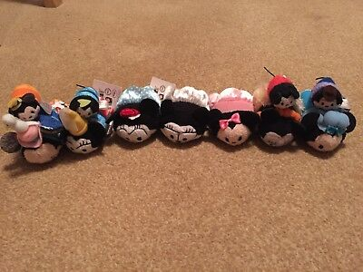 Collection Of Japanese Minnie Mouse Day Tsum Tsums (Disney Store Japan)