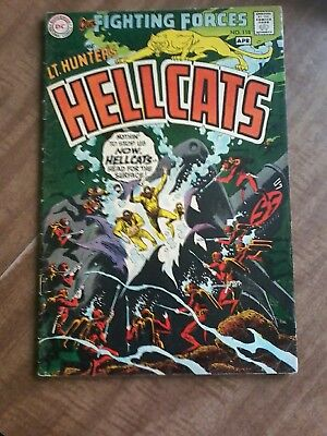 #118 OUR FIGHTING FORCES FEATURING Lt. HUNTER'S HELLCATS