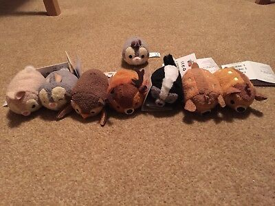 Bambi And The Aristocats Tsum Tsum Collections (Disney Store Uk)