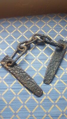 1733 Shipwreck Iron Chain and Spikes/Wedges