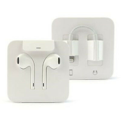 NEW Apple EarPods Earphones Wired w/ lightning connector for iPhone 7 / above