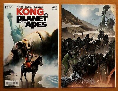 Kong On The Planet Of The Apes # 1 Covers A & B 1st Print Boom Studios 2017 NM+