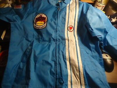 Plymouth /Mopar Rapid Transit System Racing coat W/ patches 1970's NOS Mint